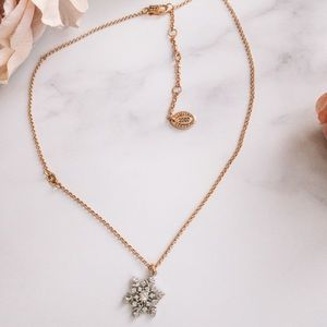 Juicy couture limited ed. 2007 snowflake necklace